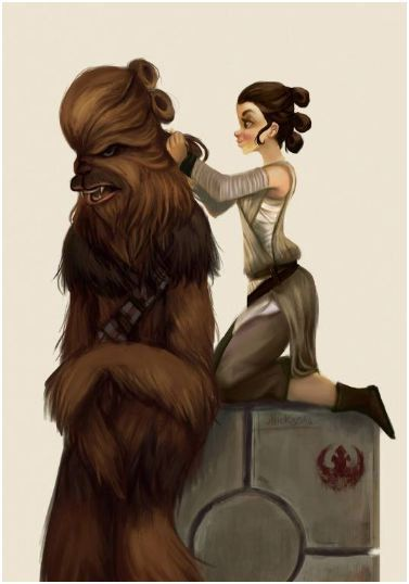 Chewie's new hair-do