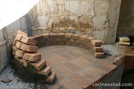 Construir Horno De Lena