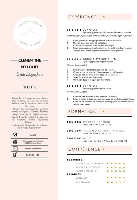 List Of Pinterest Cv Créatif Styliste Pictures Pinterest