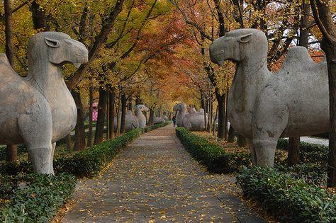 Ming Tombs at Nanjing, China