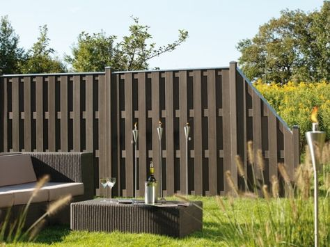 Sichtschutz Garten Gartengestaltung Ideen Pinterest Fences - gartengestaltung modern sichtschutz