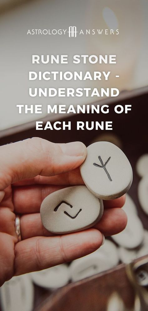 Rune Stone Dictionary – Understand The Meaning of Each Rune Runecasting is thought to utilize the wisdom of the subconscious, allowing us to see the hidden answers that lie deep within our psyche. Rune Stone Meanings, Rune Symbols And Meanings, Viking Symbols And Meanings, Runes Meaning, Mayan Symbols, Celtic Symbols, Ancient Symbols, Egyptian Symbols, Witch Symbols