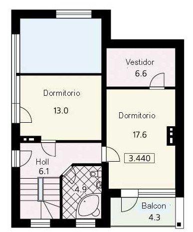 Descargar Planos De Casa De 3 Recamaras Con Medidas Gratis En Pdf Planos De Casas Floor Plans Diagram