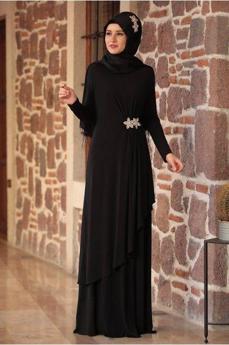 Yildiz Abiye Siyah Rana Zen The Dress Moda Stilleri Elbiseler