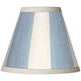 Blue, Clip On Chandelier, Lamp Shades | Lamps Plus