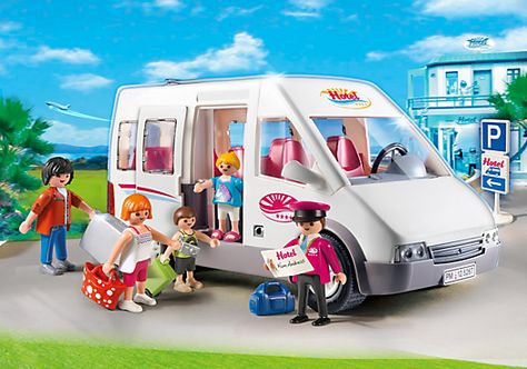Playmobil Hotel Shuttle Bus 5267 Play Mobile Playmobil Playmobil France