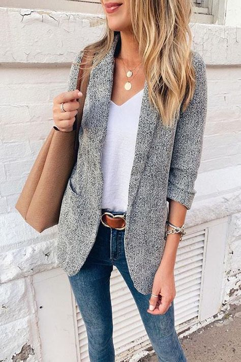Dailygirlm Casual Solid Straight Blazer This Blazer is comfy. You can match this blazer in all occas