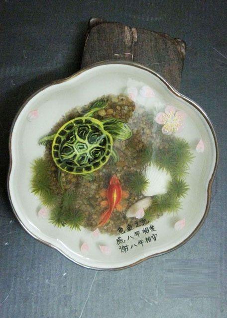 D Goldfish Turtle Painting In Resin Water Inspired By Riusuke - Incredible 3d goldfish drawings using resin