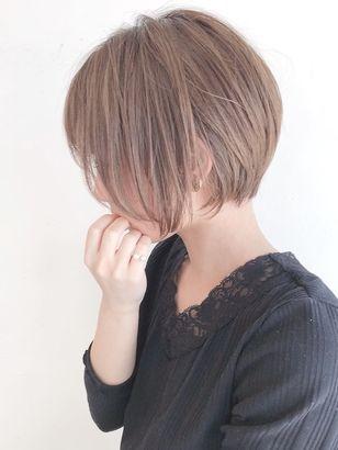 2019年秋 ショートボブの髪型 ヘアアレンジ 人気順 ホットペッパー