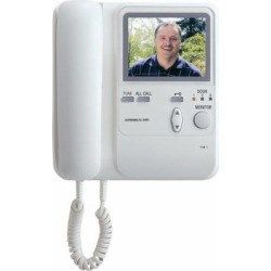 Aiphone Kb 3mrd Audio Video Master Station With Handset And Tilt Camera Control For Kb Series Intercom System By Aiphone Video Monitors Home Security Systems Video Surveillance