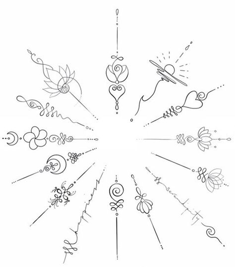 Small tattoos/Unalome tattoos – – Source by
