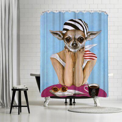East Urban Home Single Shower Curtain In 2020 East Urban Home
