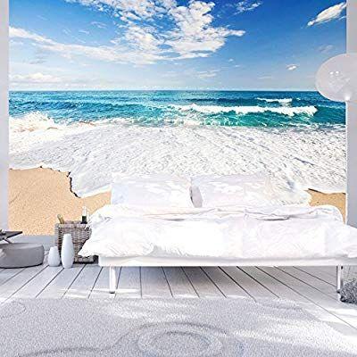 playa mar naturaleza c-B-0035-a-a murando Fotomurales 350x256 cm XXL Papel pintado tejido no tejido Decoraci/ón de Pared decorativos Murales moderna de Diseno Fotogr/áfico