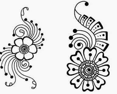 Top 10 Latest Mehndi Stencils Designs Henna Stencils Simple