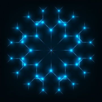 Glowing Snowflake Light Effect Glowing Snowflake Glow Light Effect Png And Vector With Transparent Background For Free Download Snowflake Lights Light Background Images Light Effect