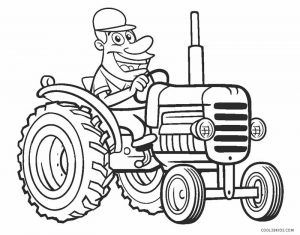 Free Printable Tractor Coloring Pages For Kids Cool2bkids In 2020 Tractor Coloring Pages Coloring Pages Unique Coloring Pages