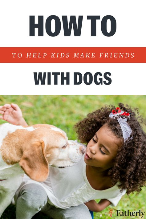 How to Help Kids Make Friends... With Dogs