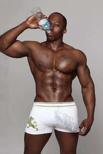 Huge black bulge