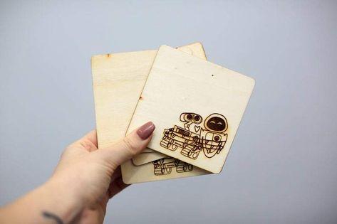 Wall-e and Eve Coasters