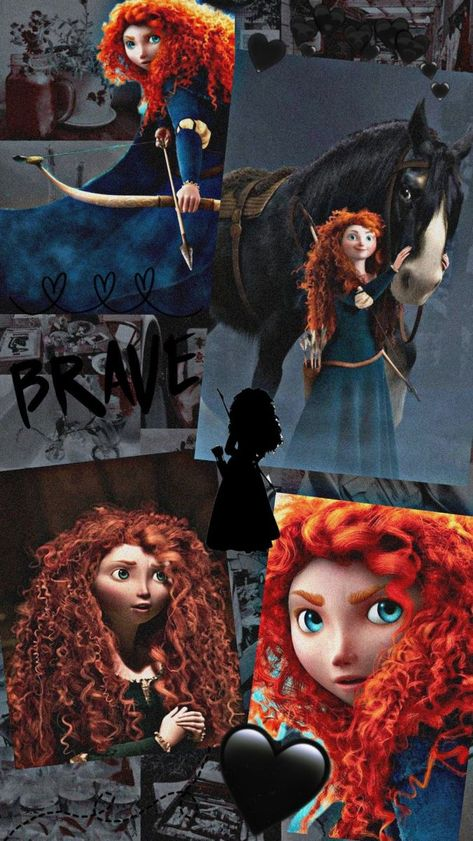 Merida wallpaper Disney