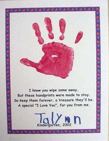 Handprint Calendar  |  Little Giraffes Teaching Ideas | A to Z Teacher Stuff