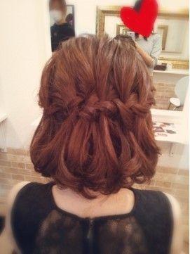 結婚式のパーティーと呼ばれるゲストのヘアスタイルの特集 今回は お