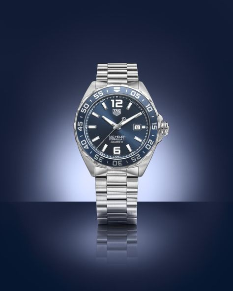 Bucherer BLUE EDITIONS TAG Heuer Formula 1 watch