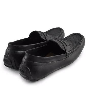 Walkers Spain Loafers Sepatu Casual Slipon Pria Hitam Sepatu