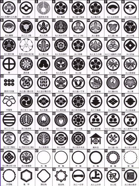 丸に剣花角 まるにけんはなかく 家紋 シンボルマーク 紋章
