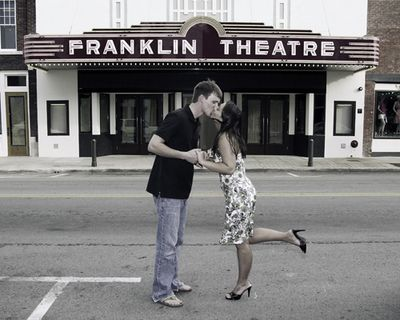 Downtown Franklin shoot