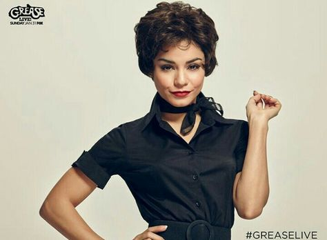 Vanessa Hudgens as Rizzo in Grease: Live