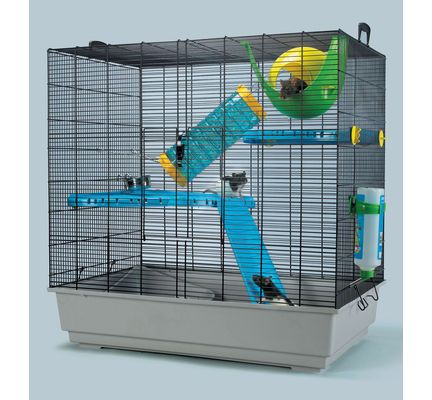 Savic Freddy 2 Max Rat Hamster Cage 80 X 50 X 80cm Rat Cage Pet Warehouse Cage