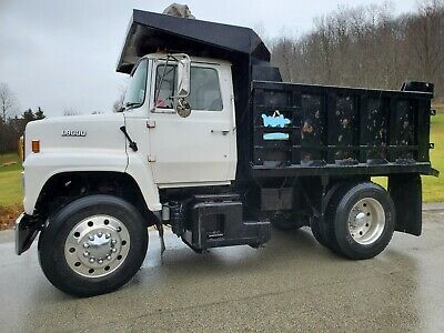 Ad Ebay Link 1989 Ford L9000 10 Single Axle Dump Truck L10 300 Hp Cummins Diesel In 2020 Dump Trucks New Trucks Cummins Diesel