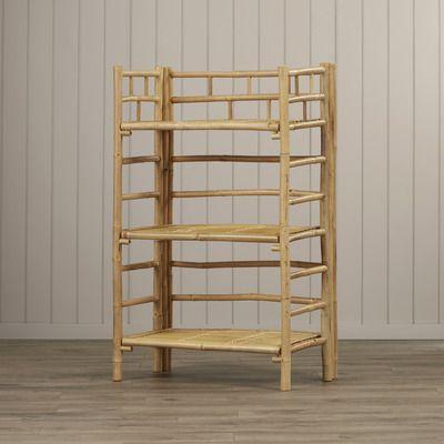 Beachcrest Home Ruskin 3 Tier Shelf 41 Standard Bookcase