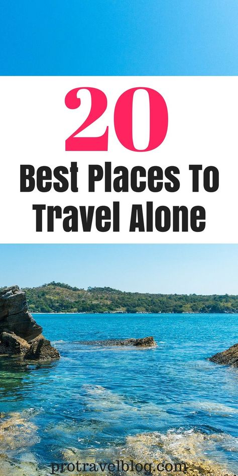 Here are the best places to travel alone as a woman, in the US, in Europe, and anywhere in the world. It's fun and safe for single travellers.