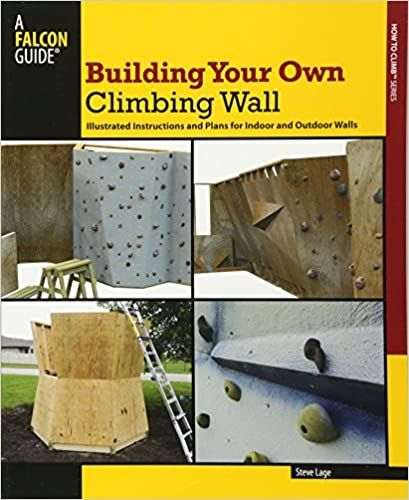 Building Your Own Climbing Wall Illustrated Instructions And Plans For Indoor And Outdoor Walls How To Climb Series La In 2020 Climbing Wall Climbing Outdoor Walls