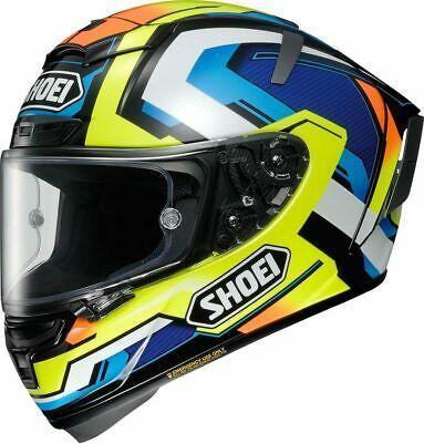 Details About Shoei X Spirit 3 Brink Tc 10 Helmet Many Sizes Fast