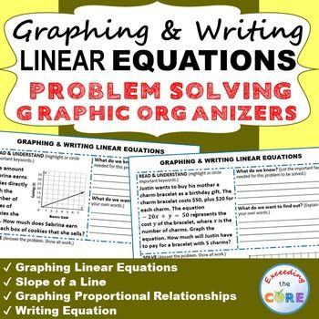 List of pinterest linear equations graphing graphic organizers graphing writing linear equations word problems with graphic organizer ibookread Download