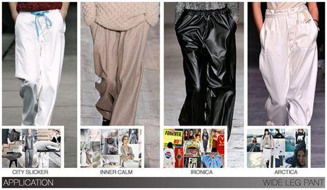 Women's key items fw 2015-16, Wide Leg Pant