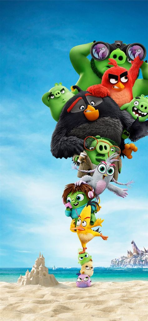 the angry birds 2 10k iPhone 11 Wallpapers