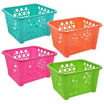 Colorful Plastic Stacking Baskets Stacking Bins Stacking Basket