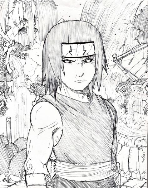 Young Kakuzu by damnedkitti.deviantart.com on @deviantART