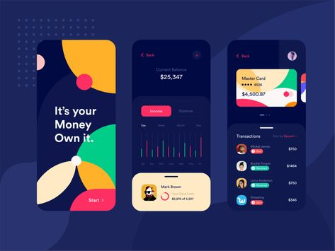Budget Web Application Design