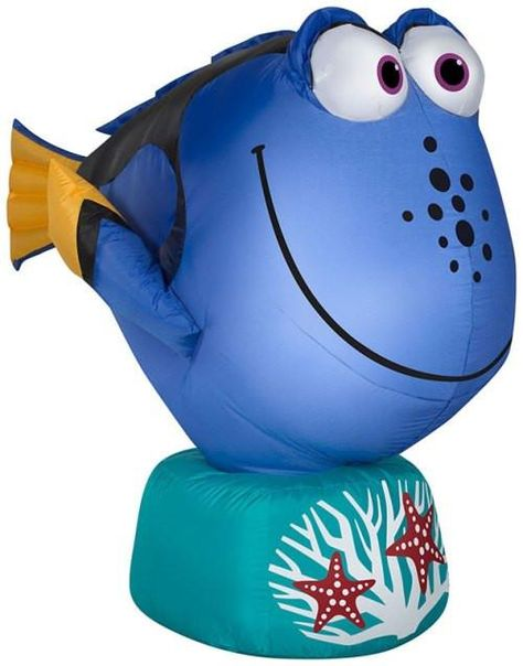 3.5' Disney's Dory From Finding Nemo Christmas Inflatable