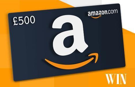 Win A Free 500 Amazon Gift Card Uk Amazon Gift Card Free Amazon Gift Cards Free Amazon Products