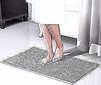 Wokee 4pieces Design Rideau De Douche Ensemble Tapis De Salle De Bain Ensemble Antiderapant Tapis Tapis Douche Rideau 12 Crochets I In 2020 Bath Mat Bath Home Decor