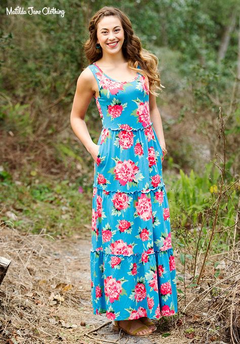8adb107a1a3 Camp MJC  Spring 2018  No End Dress. This sleeveless maxi dress is so soft  and comfortable while being so very versatile. Coordinate your family with  the ...