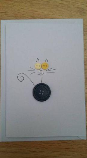 45 Ideas Birthday Card Handmade Cat Birthday Birthday Cards Diy Handmade Birthday Cards Cards Handmade