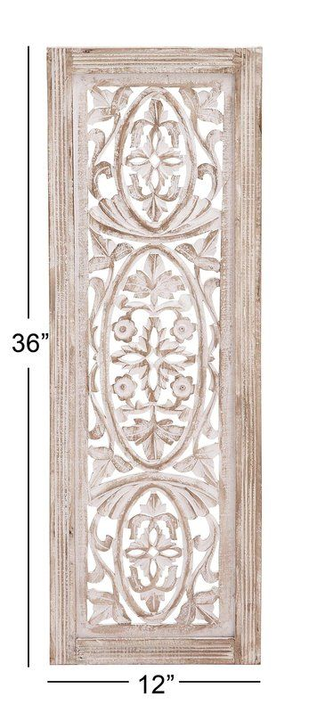 Beige Distressed Wood Wall Decor Carved Wood Wall Art Distressed Wood Wall Decor Wood Panel Wall Decor