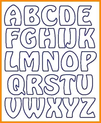 Free Printable Alphabet Ideas Of Best Free Printable Letter Stencils Letter Stencils Printables Printable Letter Templates